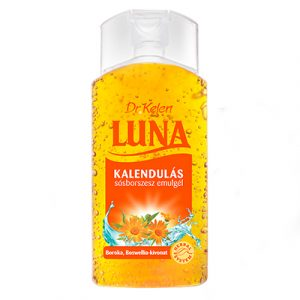 LUNA Kalendulás sósborszesz gél - körömvirág-kivonattal 150 ml