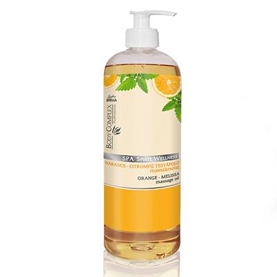 Spa spirit wellness méregtelenítő hatású narancs és citromfű masszázsolaj 1000ml